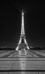 Eiffel Tower rises over the Trocadero place. The Trocadero, site of the Palais de Chaillot, is an area of Paris, France, in the 16th arrondissement, across the Seine from the Eiffel Tower. Image #28168