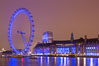 London Eye at Night. United Kingdom. Image #28286
