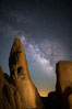 Milky Way over Joshua Tree National Park. California, USA