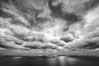 Clouds and afternoon light over the Pacific Ocean. Del Mar, California, USA. Image #28482
