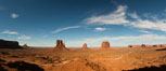 Monument Valley panorama. Arizona, USA. Image #28597