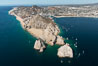 Aerial photograph of Land's End and the Arch, Cabo San Lucas, Mexico. Baja California. Image #28893