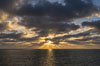 Sunset over the Pacific, viewed from Oceanside Pier. California, USA. Image #29125