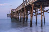Balboa Pier, sunrise. Newport Beach, California, USA. Image #29136