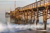 Balboa Pier, sunrise. Newport Beach, California, USA. Image #29138