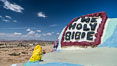 Salvation Mountain, the life work of Leonard Knight, near the town of Niland, California. Salvation Mountain, Niland, California, USA. Image #29211