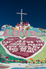 Salvation Mountain, the life work of Leonard Knight, near the town of Niland, California. Salvation Mountain, Niland, California, USA. Image #29215
