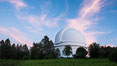 Palomar Observatory at sunset. Palomar Observatory, Palomar Mountain, California, USA. Image #29328