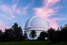 Palomar Observatory at sunset. Palomar Observatory, Palomar Mountain, California, USA. Image #29329