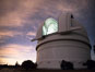 Palomar Observatory at sunset. Palomar Mountain, California, USA. Image #29336