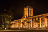 San Diego County Administration building at night. Image #29353