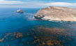 Santa Barbara Island, aerial photograph. California, USA. Image #29359