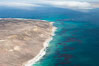 San Miguel Island west end, aerial photograph. California, USA