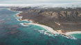 San Miguel Island south side, aerial photograph. California, USA. Image #29385