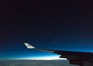 Ursa Major, the big dipper, viewed at night over Iceland on KLM plane flight. Image #29427
