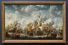 The Battle of Terheide, Jan Abrahamsz. Beerstraten, 1653 - 1666. Oil on canvas, h 176cm x w 281.5cm. Rijksmuseum, Amsterdam, Holland, Netherlands. Image #29453
