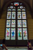 Stained glass in entrance hall, Rijksmuseum, Amsterdam. Rijksmuseum, Amsterdam, Holland, Netherlands. Image #29457