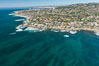 Aerial Photo of South La Jolla State Marine Reserve. California, USA. Image #30639