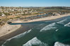 Aerial Photo of San Elijo Lagoon and Cardiff Coastline. Image #30724