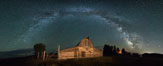 Milky Way over John Moulton Barn, Grand Teton National Park. Image #32305
