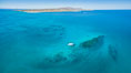 Suwanee Reef, Sea of Cortez, Aerial Photo. Baja California, Mexico. Image #32363