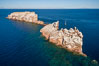 Los Islotes, part of Archipelago Espiritu Santo, Sea of Cortez, Aerial Photo. Baja California, Mexico. Image #32382