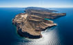 Isla Partida north end and Punta Maru, aerial photo, Sea of Cortez. Baja California, Mexico. Image #32391