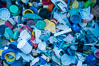 Plastic Debris, Sorted and Cataloged for Study, Clipperton Island. France. Image #33106