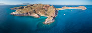 Isla San Francisquito, Aerial View, Sea of Cortez. Baja California, Mexico. Image #33640