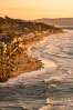 Del Mar Beach at Sunset, northern San Diego County. California, USA. Image #35069