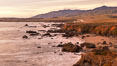 San Simeon Coastline at Sunset. California, USA. Image #35139