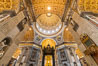Saint Peter's Basilica interior, Vatican City. Rome, Italy. Image #35552