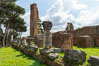 Ancient Roman ruins on the Palatine Hill, Rome. Palatine Hill, Rome, Italy. Image #35563