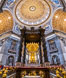 Saint Peter's Basilica interior, Vatican City. Rome, Italy. Image #35568