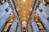 Saint Peter's Basilica interior, Vatican City. Rome, Italy. Image #35569