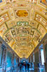 Ornate Ceiling Details, Vatican Museums, Vatican City. Rome, Italy. Image #35571