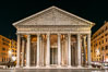 Pantheon at night, Rome. Italy. Image #35578
