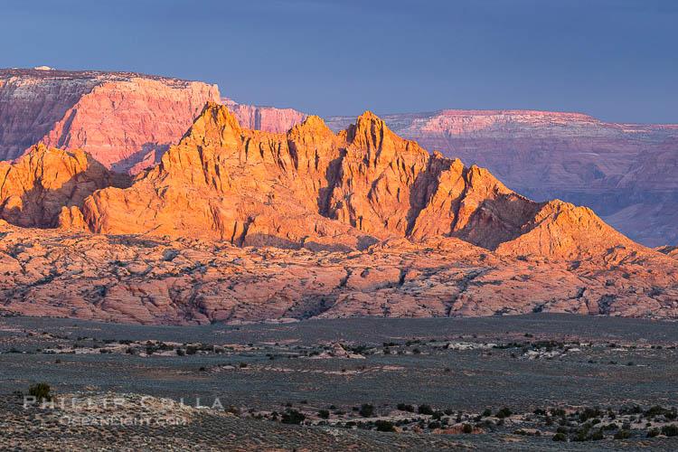 Vermillion Cliffs at Sunrise, Page, Arizona