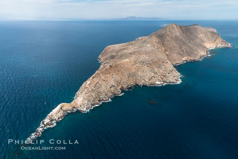 Anacapa Island, Aerial Photo, Channel Islands National Park, California