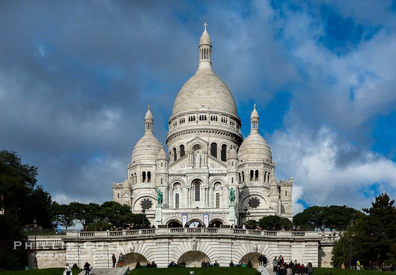 Sacre-Coeur Basilica, Paris, France