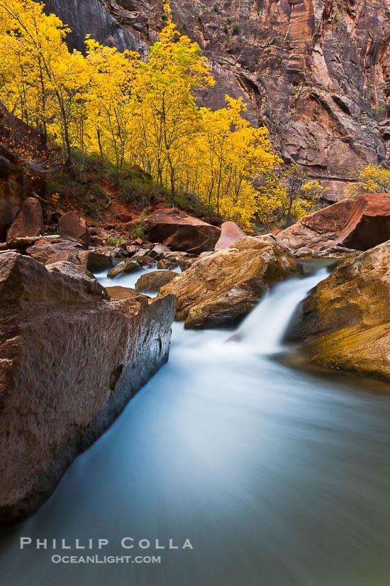 Hiking the Virgin River Narrows, Zion National Park, Utah