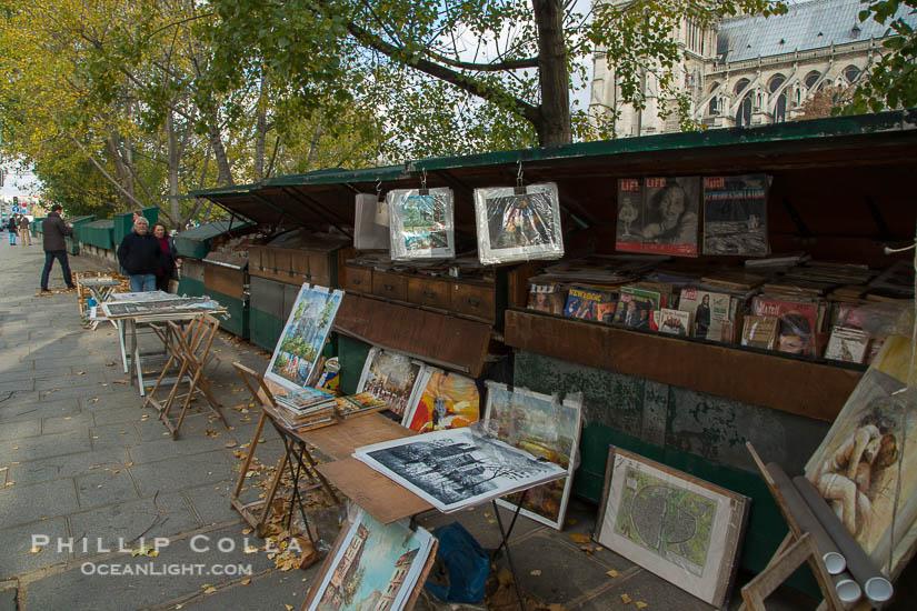 Art Seller, La Rive Gauche, Paris, France