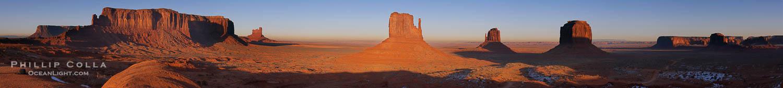 Monument Valley Panoramic Photo