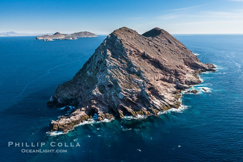 Aerial Photos of Islas Coronado, the Coronado Islands, Baja California, Mexico