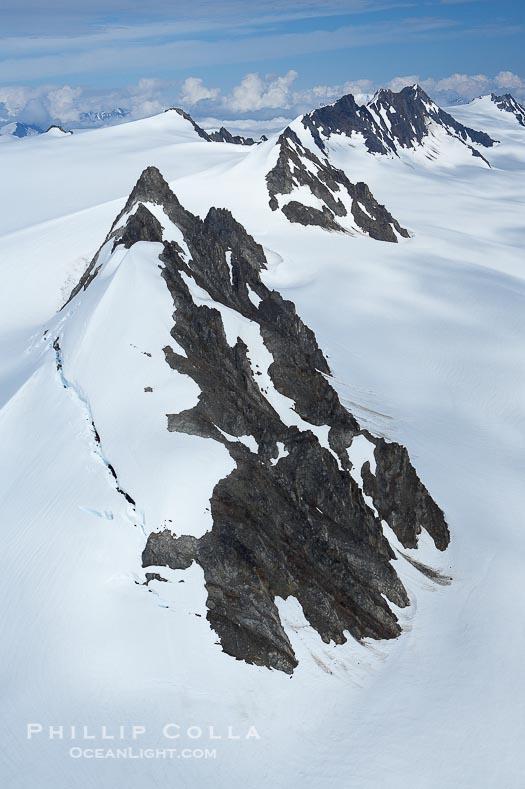 Aerial Photos of Kenai Fjords National Park, Alaska