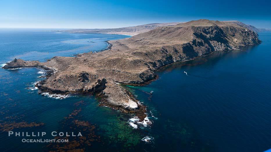 San Clemente Island Aerial Photograph