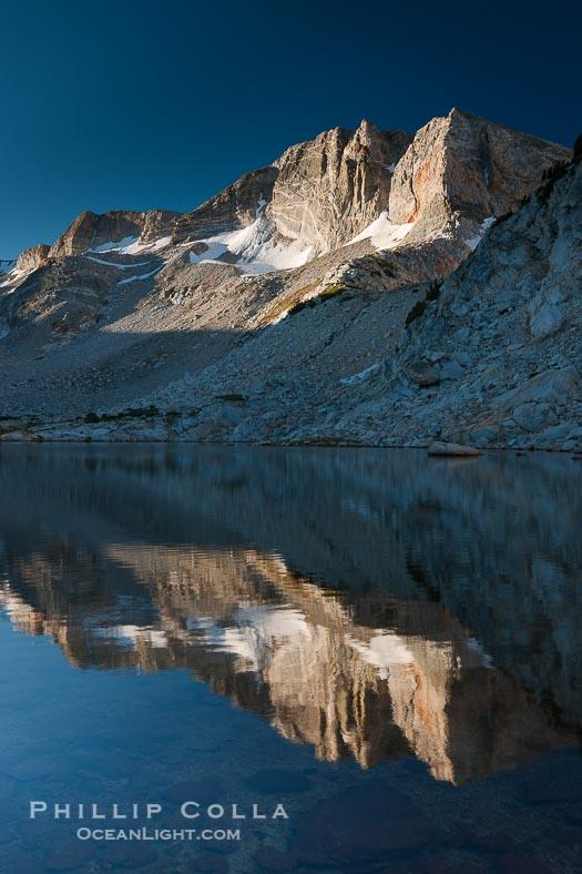 Townsley Lake and Cathedral Range at Sunrise, Yosemite National Park