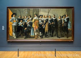 Militia Company of District XI under the Command of Captain Reynier Reael, Known as The Meagre Company, Frans Hals, Pieter Codde, 1637, Rijksmuseum, Amsterdam, Holland, Netherlands