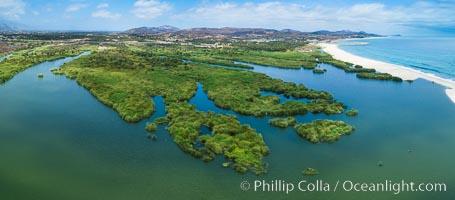 Estero San Jose, aerial photo