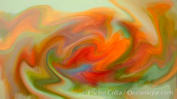 Abstract blend of colors., natural history stock photograph, photo id 20568
